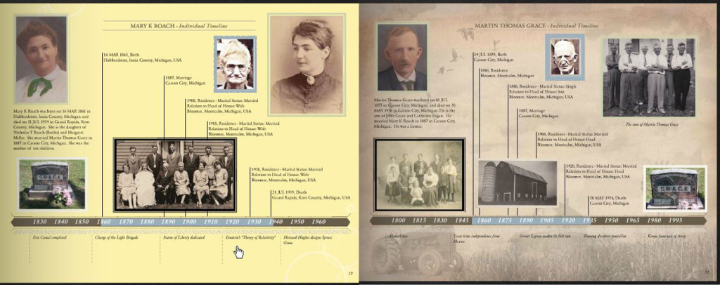 sample family history book